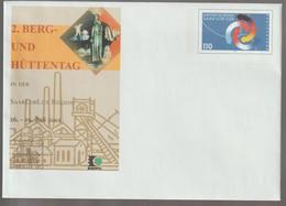M 988) BRD GS-Umschlag 2001 Mi# USo 29 *: SAAR-LOR-LUX, Bergwerk - Factories & Industries