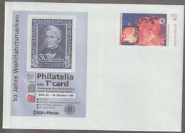 M 984) BRD GS-Umschlag Mi# USo 10 *: 1999 Wohlfahrt Wichern, WSt Explodierender Stern - BRD