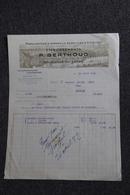 Facture Ancienne, BELLEVILLE Sur SAONE - Manufacture D'appareils Agricoles, Etablt P.BERTHOUD. - Agriculture