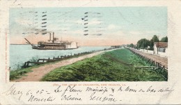 H130 - ETATS-UNIS - The Levee At Chalmette - NEW-ORLEANS - New Orleans