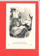 HISTOIRE  Cpa Animée Marie Antoinette Ecoutant La Lecture De Son Acte D' Accusation     37 ND - Histoire