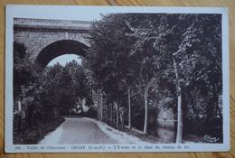 91 : Orsay - L'Yvette Et Le Pont Du Chemin De Fer - Vallée De Chevreuse - Animée : Petite Animation - (n°10601) - Orsay