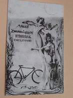 Velos ZWARTE LEEUW K. TUBBAX Deurne ( REPRO - COPY Van Postkaart / Details Zie Foto ) ! - Antwerpen