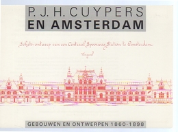 Architect P.J.H. Cuypers Central Station Design (38-17) - Amsterdam