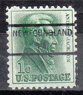 USA Precancel Vorausentwertung Preo, Locals Pennsylvania, Newfoundland 825 - Vereinigte Staaten
