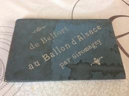 Carnet  De 16 Vues GIROMAGNY. De Belfort Au Ballon D'Alsace Photographe Andres - Giromagny