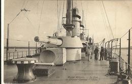 """Le Pont Du Croiseur Cuirassé """" Gloire """"   75 - Warships"""