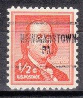 USA Precancel Vorausentwertung Preo, Locals Pennsylvania, Newmanstown 704 - Vereinigte Staaten
