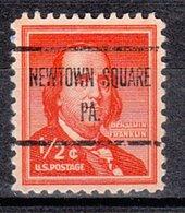 USA Precancel Vorausentwertung Preo, Locals Pennsylvania, Newton Square 726 - Vereinigte Staaten