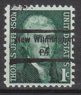 USA Precancel Vorausentwertung Preo, Locals Pennsylvania, New Wilmington 848 - Vereinigte Staaten