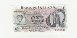 ONE Pound Nordirland UNZ - [ 2] Ireland-Northern