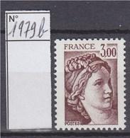 Sabine De Gandon Neuf N°1979b Sans Phosphore Signé Calves - 1977-81 Sabine Of Gandon