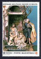 Sovereign Military Order Of Malta 1985 Christmas. Eighteenth-century Neapolitan Nativity Scene Unmounted Mint. - Malte (Ordre De)
