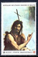 Sovereign Military Order Of Malta 1986 St John The Baptist Raffael Unmounted Mint. - Malte (Ordre De)