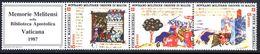 Sovereign Military Order Of Malta 1987 Apostolic Library Vatican Unmounted Mint. - Malte (Ordre De)