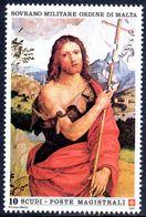 Sovereign Military Order Of Malta 1991 St John The Baptist By Viti Unmounted Mint. - Malte (Ordre De)
