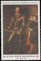 Sovereign Military Order Of Malta 1993 Masters Of Painting Caravaggio Unmounted Mint. - Malte (Ordre De)
