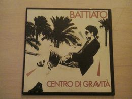 Centro Di Gravita Vinyle Battiato - Other - Italian Music