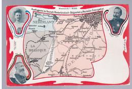 Ausflugsorte Im Deutsch-Niederländisch-Belgishen-u.Neutralen Grenzgebiet Ca 1910 OLD POSTCARD 2 Scans - La Calamine - Kelmis
