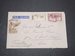 CÔTE D'IVOIRE - Enveloppe En Recommandé De Agboville Pour St Etienne En 1941 - L 16398 - Ivory Coast (1892-1944)