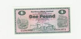 Nordirland ONE Pound UNZ - [ 2] Ireland-Northern