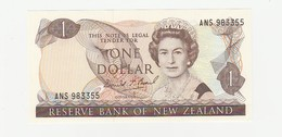 One Dollar - Neuseeland UNZ - Nouvelle-Zélande