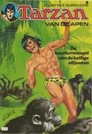 Tarzan Van De Apen N° 12217 + Photo Gene Pollar - (in Het Nederlands) Williams Lektuur - 1976 - Limite Neuf - Livres, BD, Revues