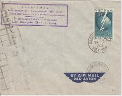 Vietnam 1952 1er Jour Admission UIT - Viêt-Nam