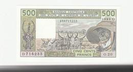 500 Francs  - Mali UNZ - Mali