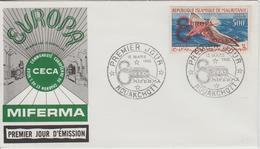 Mauritanie 1962 1er Jour PA 20F Miferma Mines De Fer - Mauritania (1960-...)