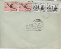 Angola Lettre De 1952 Pour La France - Angola