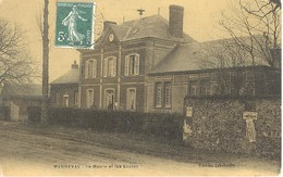Menneval - La Mairie Et Les écoles - Frankreich