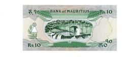 10 Rupien Mauritius UNZ - Maurice