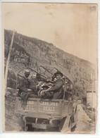 CAMION TRUCK GRAND HOTEL CERESOLE REALE TORINO - FOTO ORIGINALE ANIMATA 1930 CIRCA - Cars