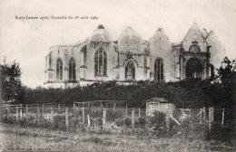 CPA   51   BUSSY-LETTREE APRES L'INCENDIE DU 1er AOUT 1904---1905 - Autres Communes