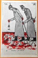 """CPA Guerre 1914-18. Edit. Illus. G.P  """"Vers La Paix.... No 3 - Oorlog 1914-18"""
