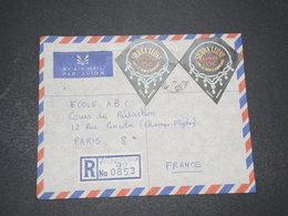 SIERRA LEONE - Enveloppe En Recommandé De Freetown Pour Paris En 1966 , Affranchissement Plaisant - L 16423 - Sierra Leone (1961-...)