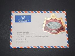 SIERRA LEONE - Enveloppe De Freetown Pour Paris En 197. , Affranchissement Plaisant - L 16424 - Sierra Leone (1961-...)