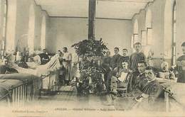 18-3498 : ANGERS. HOPITAL MILITAIRE  SALLE SAINT-VICTOR - Angers