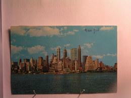 New York City In Lower Manhattan .... - Wall Street