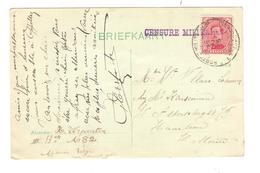 TP 138 S/CP C.PMB-BLP 20/11/1915 Censure Militaire écrite Par Verpoorten III 13 On A82 V.Haarlem AP2013 - Weltkrieg 1914-18