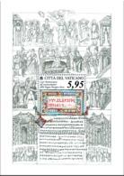 Vatican - 2018 - 1150th Anniversary Of Recognition Of Slavic Liturgical Language - Joint W/ Slovakia - Souvenir Sheet - Vaticano