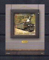 AUSTRIA 2014 - 125° ANNIVERSARIO FERROVIE - TRENI - FOGLIETTO - MNH ** - 1945-.... 2nd Republic