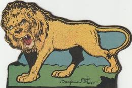 """""""le Lion"""" Par Benjamin RABIER. - Autres"""