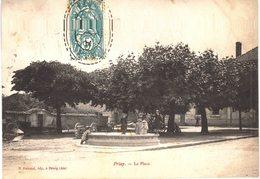 Carte Postale Ancienne De  PRIAY - Autres Communes