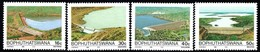 Bophuthatswana - 1988 Dams Set (**) # SG 211-214 , Mi 210-213 - Bophuthatswana