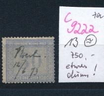 D.-Reich Nr.  13   O  (c9222  ) Siehe Scan - Deutschland