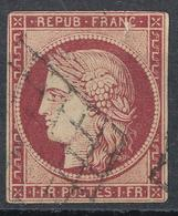 N°6 GRILLE 1849 - 1849-1850 Cérès