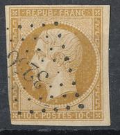 N°9 LOSANGE PETITS CHIFFRES. - 1852 Louis-Napoléon
