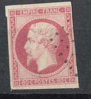 N°17 NUANCE ET OBLITERATION - 1853-1860 Napoleon III